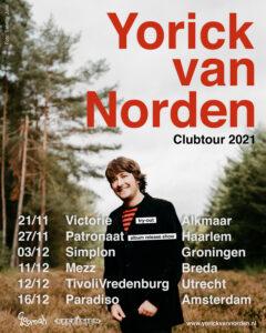 Yorick Clubtour 2021